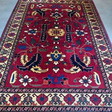 Beautiful modern Ushak Ziegler Persian carpet - 255 x 177 - very good condition - unique opportunity