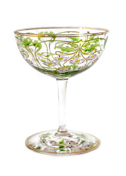 Ferdinand von Poschinger, Glashüttenwerke Buchenau (presumably)- Jugendstil liqueur glass