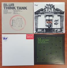 Rare Blur Think Tank  Promo CD (SEALED) + 3 BLUR Promo CD
