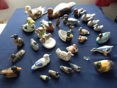 Large collection of 31 ducks
