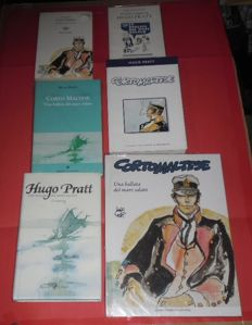 "Pratt, Hugo - 6x volumes - ""La ballata del mare salato"" - comic books in Italian language"