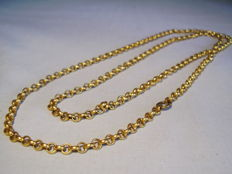 Long patrician curb chain, Holbein time