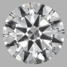 Round Brilliant 2.01ct - G SI1 - EGL USA -Original Image 10X #580