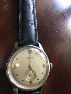 Swiss PONTIAC. Men's Vintage watch. Year of manufacture - before 1950y.Unique.