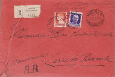 Italy 1885–1946 – Collection of 29 franked items from the Apulian Region (Puglia), as well as 31 postal documents