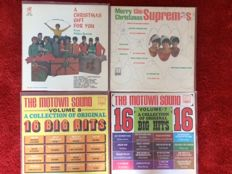 Tamla Motown - Lot of 6 albums (including the very rare Christmas album on Philles Records)