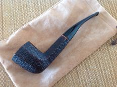 Savinelli Octavia, hand rusticated briar, octagonal shape pipe, suitable for 9 mm filters !!