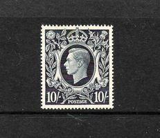 Great Britain, King George VIth. 1939-48 - Stanley Gibbons 478, 10/- Dark Blue