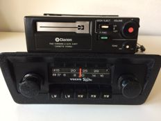 Clarion (VOLVO) classic MW/LW radio and Clarion stereo cassette player **NO RESERVE**