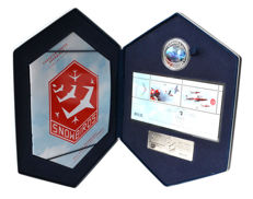 Canada - 5 Dollars 2006 'Canadian Forces Snowbirds' with hologram - silver