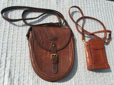 Mulberry - Two Crossbody Women's Bags