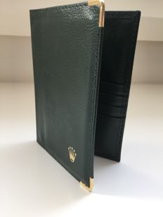 Rolex – passport / documents / credit card folder (vintage)