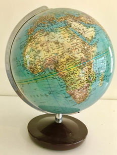 Beautiful Columbus globe from second half of 20th century