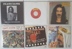 Frank Zappa - beautiful collection of 6 original singles with original PS | 5 with PS | 1 never came with PS