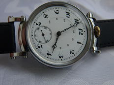 10. Hippolyte Parrenin marriage men's wristwatch 1902-1910