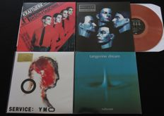 Kraftwerk (2x) / Yellow Magic Orchestra (YMO) / Tangerine Dream: Great electronic lot, incl. limited editions -4LP's-