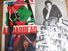 Nic Lot with 9 albums of 2 great Singer Songwriters: Gino Vanelli & Al Jarreau