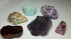 Mineral lot - 4 to 10 cm - 1540 gm (6)