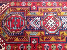 Hand-knotted - 348 x 79 cm - Kazakh USSR - dates from before 1972 (purchase date)