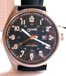 LOWELL Italy - MARINES collection, men's watch, new with 2 straps