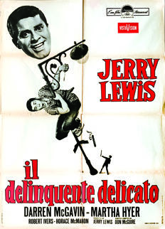 Anonymous - The Delicate Delinquent, by Jerry Lewis [Don Mc Guire] - 1968