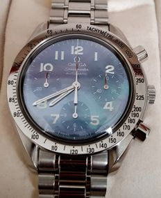Omega Speedmaster Mother Of Pearl Dial Chronograph Watch