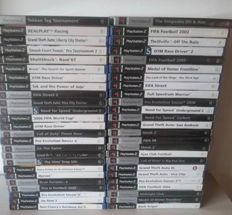 50 PS Games (Most Are Complete With Manuals)