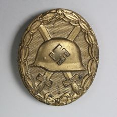 Wounded Medal in gold category WWII