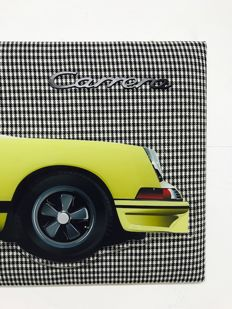 Halmo Collection - Porsche 2.7 RS Fabric frame and Plexiglass Model
