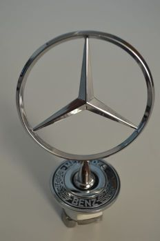 Mercedes Benz - chrome radiator grill star