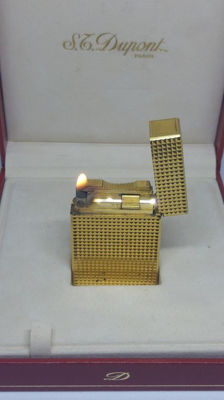 S.T. Dupont Lighter L1 Small '' Diamond Head ''