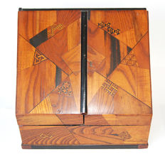 Marquetry letter writing box - Japan - 19th century