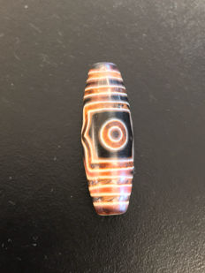 An Agate  prayer bead -Asia - late 20th  Century