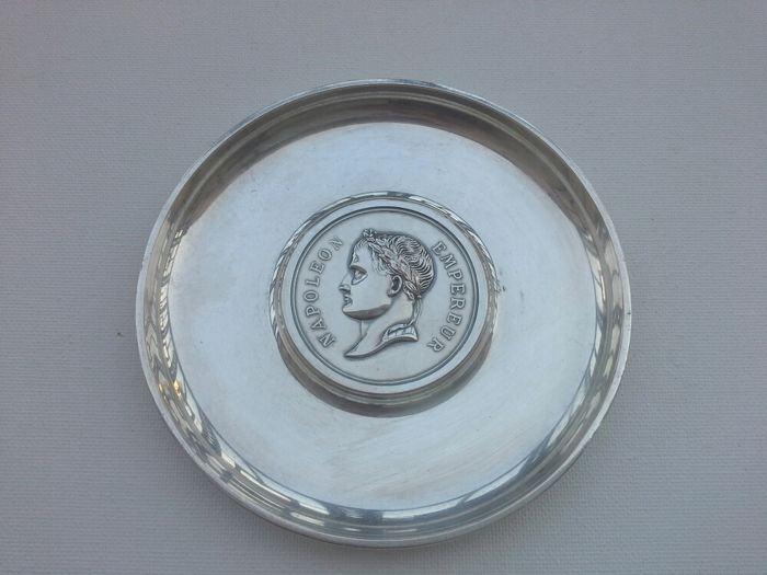 Vide poche / Coin tray, Christofle, France, First half of 20th century