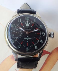 Omega - montre marriage militaire pilot - Men - 1901-1949