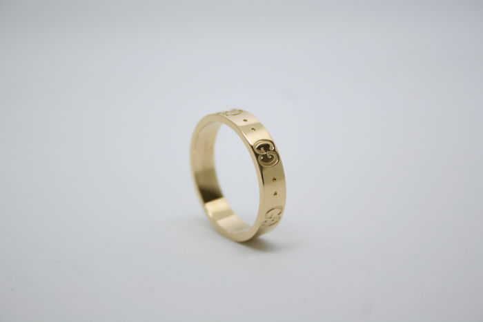 Gucci ring band - 18 kt geel goud grootte 13