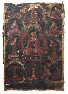 Thangka –  Tibet – 18th century