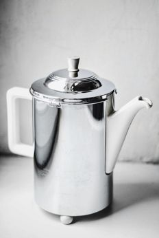 Art Deco Chrome Jug and Thermos by Bauscher Weiden, 1920s