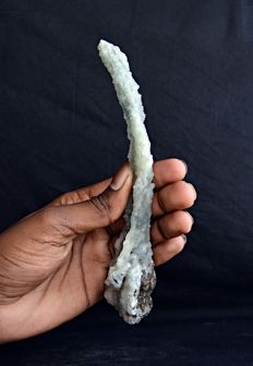 Unusual Formation of a Chalcedony Stalactite  - 18  x 6 cm - 110 gm