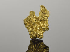 Gold nugget natural - 14.3 x 10.9 x 6.3 mm -  18.08 ct.