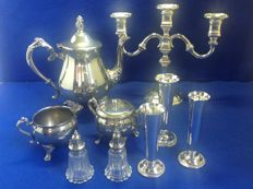 Silver plated table supplies