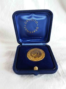 Italy - Reproduction of a Giovanni Galeazzo Maria Sforza Testone - 750/1000 gold