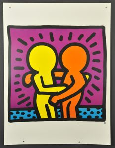 2 x Keith Haring - Andy Mouse & Untitled