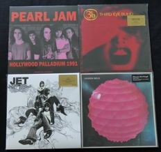 Pearl Jam / Third Eye Blind / Jet / Broken Bells: Great (Alternative) Rock/Grunge Lot: 4 albums (5LP's), including 3 limited editions. Includes the sought after ltd. ed. of 'Third Eye Blind' on YELLOW vinyl!