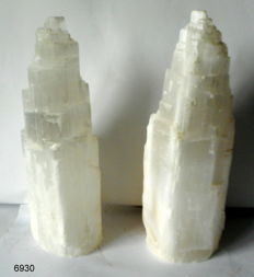 Large Selenite lamps - 310 and 300 mm - 8,2 kg (2)