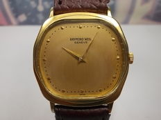 Raymond Weil Geneve Hand Winding Gold plated  unisex wristwatch c.1960s'