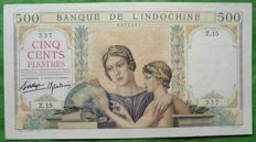 French Indo-China  - 500 Piastres ND (1939) - Pick 57