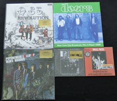 Q65 / The Doors / Blues Magoos / Elmer Gantry's Velvet Opera ‎/ Small Faces - Great 60's lot: 3LP's + 2x 7inch single. All limited editions!
