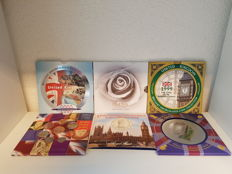 United Kingdom - Year packs 1998, 1999, 2000 and 2002 + 5 Pounds 1999 'Diana'