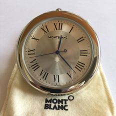 Stainless steel Montblanc desk clock